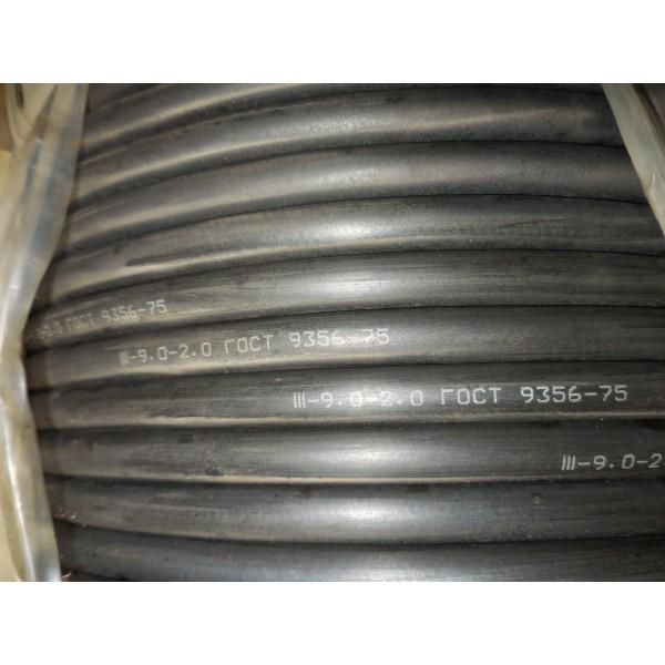 ІІІ-9.0-2.0 100м черный HRB